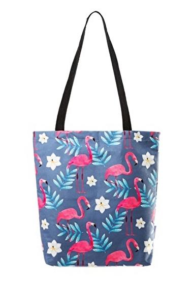home-bath Omuz Çantası Flamingo Renkli